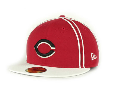 Cincinnati Reds MLB Retro Piping 59FIFTY Hats