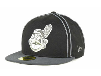 Cleveland Indians MLB Retro Piping 59FIFTY Hats