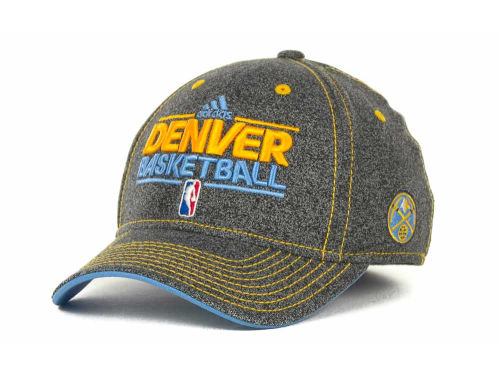 Denver Nuggets adidas NBA Authentic Practice Cap Hats