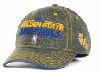 Golden State Warriors adidas NBA Authentic Practice Cap Stretch Fitted Hats