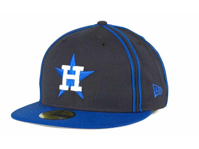 Houston Astros MLB Retro Piping 59FIFTY Hats
