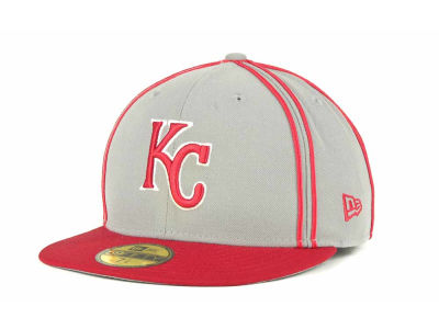 Kansas City Royals MLB Retro Piping 59FIFTY Hats