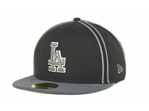 Los Angeles Dodgers New Era MLB Retro Piping 59FIFTY Hats