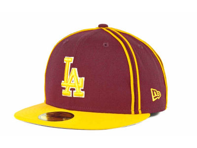 Los Angeles Dodgers MLB Retro Piping 59FIFTY Hats