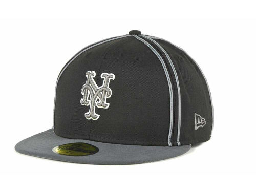 New York Mets New Era MLB Retro Piping 59FIFTY Hats