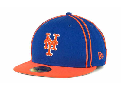 New York Mets MLB Retro Piping 59FIFTY Hats