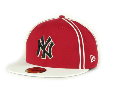 New York Yankees MLB Retro Piping 59FIFTY Hats