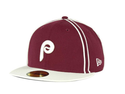 Philadelphia Phillies MLB Retro Piping 59FIFTY Hats