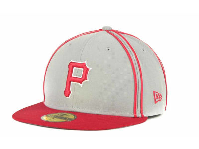 Pittsburgh Pirates MLB Retro Piping 59FIFTY Hats