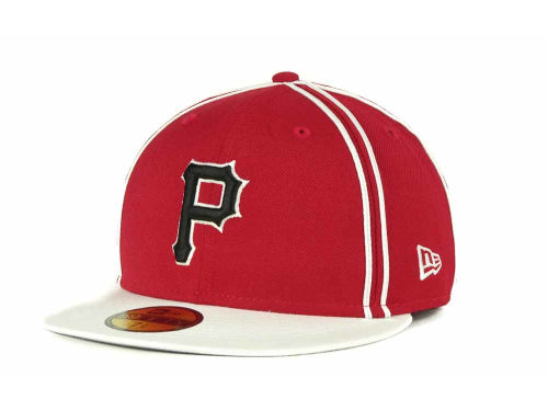 Pittsburgh Pirates New Era MLB Retro Piping 59FIFTY Hats