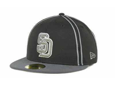 San Diego Padres MLB Retro Piping 59FIFTY Hats