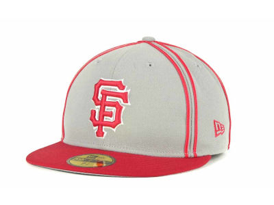 San Francisco Giants MLB Retro Piping 59FIFTY Hats