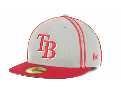 Tampa Bay Rays MLB Retro Piping 59FIFTY Hats