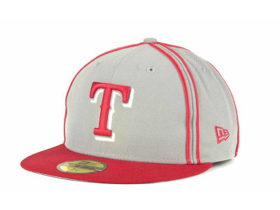 Texas Rangers MLB Retro Piping 59FIFTY Hats