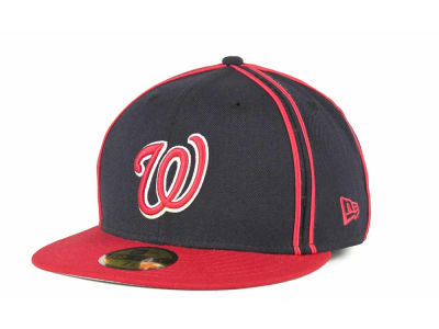 Washington Nationals MLB Retro Piping 59FIFTY Hats