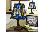 Buffalo Sabres Art Glass Table Lamp Bed & Bath