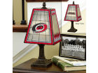 Carolina Hurricanes Art Glass Table Lamp Bed & Bath