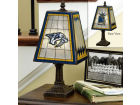 Nashville Predators Art Glass Table Lamp Bed & Bath
