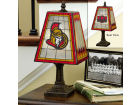 Ottawa Senators Art Glass Table Lamp Bed & Bath