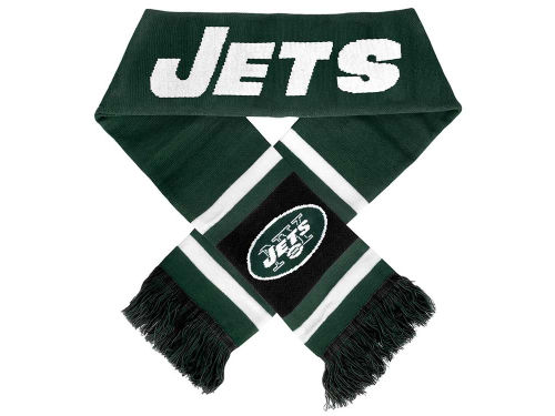 New York Jets Forever Collectibles Team Stripe Scarf
