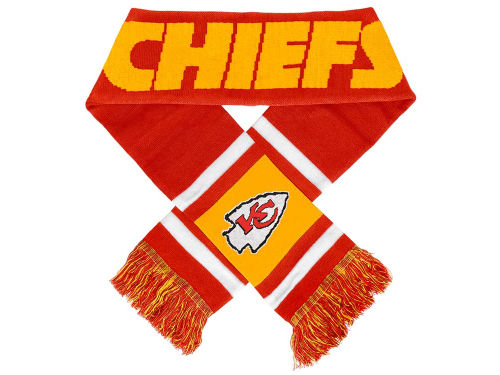 Kansas City Chiefs Team Stripe Scarf