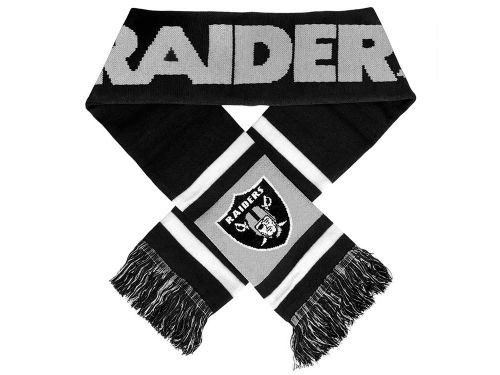 Oakland Raiders Team Stripe Scarf