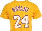 Los Angeles Lakers Kobe Bryant NBA Triblend  Vintage Player T-Shirt T-Shirts