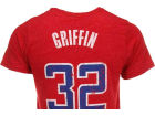 Los Angeles Clippers Blake Griffin Majestic NBA Triblend  Vintage Player T-Shirt T-Shirts