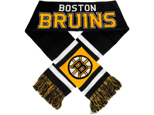 Boston Bruins Team Stripe Scarf