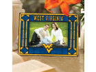 West Virginia Mountaineers Art Glass Picture Frame Bed & Bath