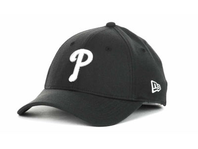 Philadelphia Phillies MLB Black and White Ace 39THIRTY Hats