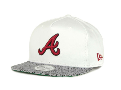 Atlanta Braves New Era MLB C-Thru 9FIFTY Strapback Hats