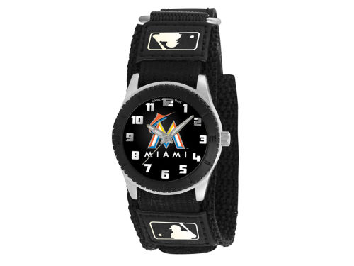 Miami Marlins Game Time Pro Rookie Kids Watch Black