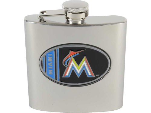 Miami Marlins Great American Products Hip Flask