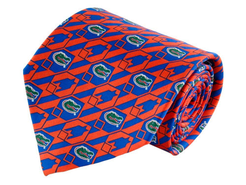 Florida Gators Necktie Nexus Print Silk