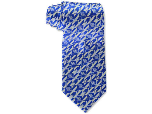 Kentucky Wildcats Eagles Wings Necktie Nexus Print Silk