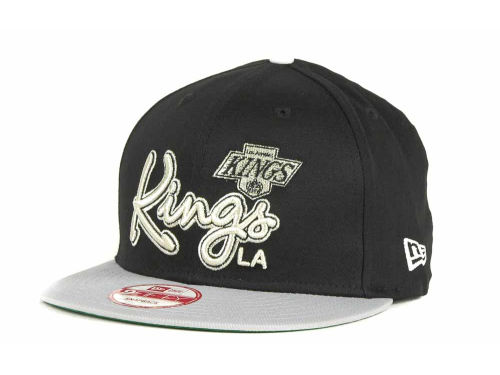 Los Angeles Kings New Era 9FIFTY NHL Goal Line Snapback Cap Hats