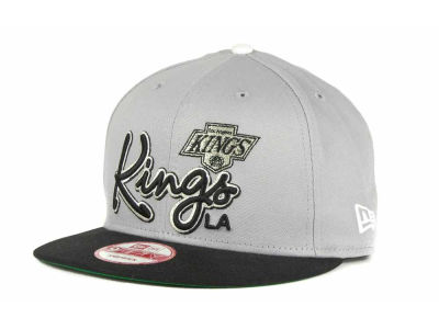Los Angeles Kings 9FIFTY NHL Goal Line Snapback Cap Hats