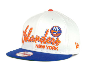 New York Islanders 9FIFTY NHL Goal Line Snapback Cap Hats