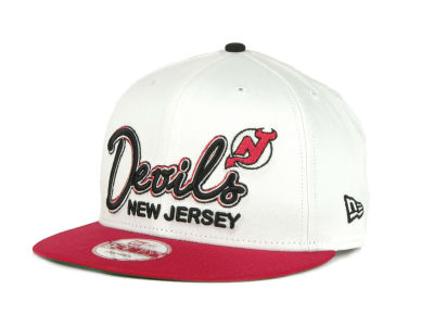 New Jersey Devils 9FIFTY NHL Goal Line Snapback Cap Hats