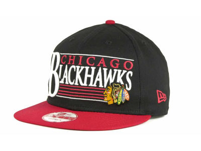 Chicago Blackhawks 9FIFTY NHL Snapshot Snapback Cap Hats