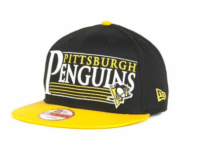 Pittsburgh Penguins 9FIFTY NHL Snapshot Snapback Cap Hats