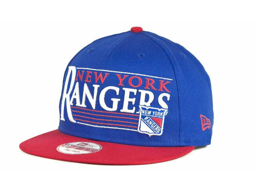 New York Rangers New Era 9FIFTY NHL Snapshot Snapback Cap Hats