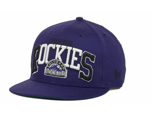 Colorado Rockies New Era MLB Snap Backin 9FIFTY Snapback Hats
