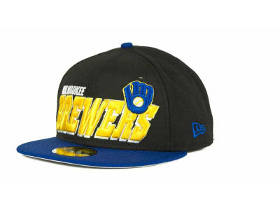 Milwaukee Brewers MLB Fit It Back 59FIFTY Cap Hats