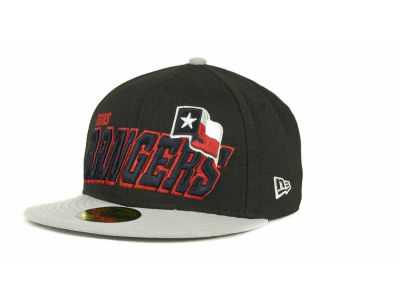 Texas Rangers MLB Fit It Back 59FIFTY Cap Hats