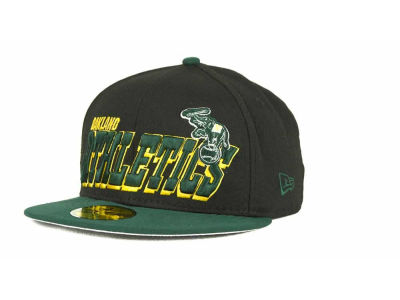 Oakland Athletics MLB Fit It Back 59FIFTY Cap Hats