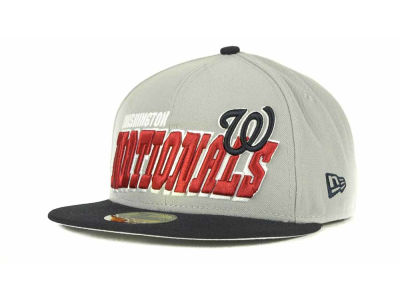 Washington Nationals MLB Fit It Back 59FIFTY Cap Hats