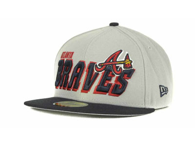 Atlanta Braves MLB Fit It Back 59FIFTY Cap Hats