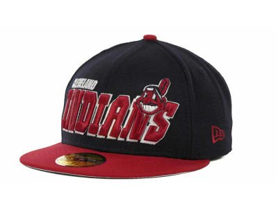 Cleveland Indians MLB Fit It Back 59FIFTY Cap Hats